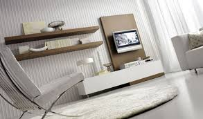 smart living room layouts with wooden wall tv stand white sofa