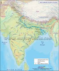 world rivers map shapefile ganges river and its map
