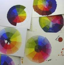color theory practice lessons
