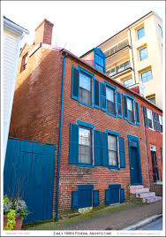 mr richard frazier u0027s 1820 federal style brick row house in the