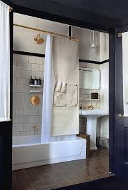nyc small bathroom ideas copper fittings at ace hotel new york bathroom pinterest bath