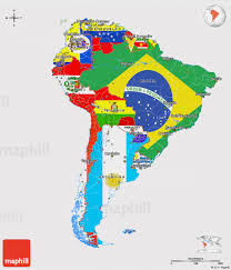 South America Map Labeled by Latin America Map Clipart 35