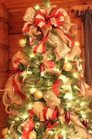 mini christmas tree lights ribbon decorations prepossessing