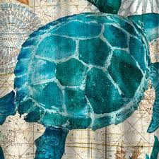 aliexpress com buy miracille sea turtle waterproof shower