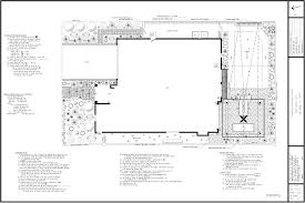 planting and light plan black mountain landscape design