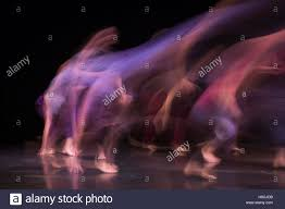 Photo Card Invites London Uk 27 October 2016 Long Exposure Of Dancers Performing