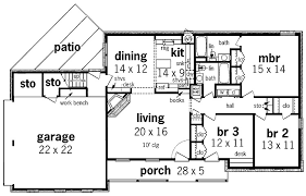 simple 1 story house plans simple 1 floor house plans