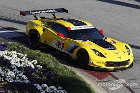 corvette monterey racing at monterey gtlm points lead heading to le mans