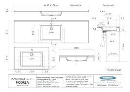 norme hauteur plan de travail cuisine hauteur plan vasque salle de bain norme hauteur meuble haut