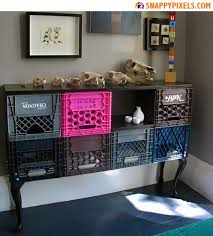 Crates For Bookshelves - diy for used milk crates 29 upcycle pictures snappy pixels