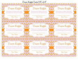 diaper raffle tickets for baby shower little pumpkin baby shower