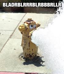 Googly Eyes Meme - a fire hydrant with googly eyes