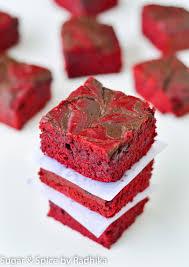 red velvet chocolate swirl