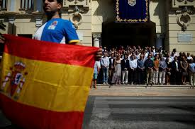 Barcelona Spain Flag How Will Spain React To The Barcelona Attacks The National Interest