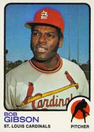 1973 topps bob gibson 190 baseball card value price guide