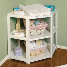 Changing Table Basket Badger Basket White Corner Changing Table Free Shipping