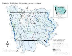 Map Of Cedar Falls Iowa Fish Details
