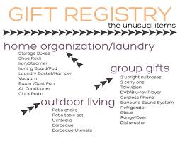 the gift registry tackling the gift registry the items squirrelly minds