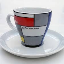 retro cycling team cappuccino cup u0026 saucer cycling souvenirs