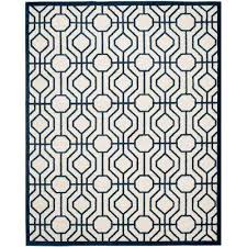 Safavieh Outdoor Rugs 8 X 10 Safavieh Blue Outdoor Rugs Rugs The Home Depot