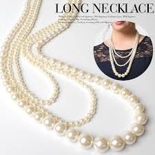 large pearl necklace images Partycollection claire pearl long necklace women 39 s party necklace jpg