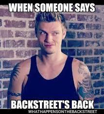 Backstreet Boys Meme - memes graphics what happens on the backstreet