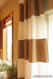 Orange And White Striped Curtains Striped Curtains Finally And The After Party Meadow Lake Road