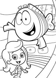 bubble guppies coloring page bubble guppies characters bubble