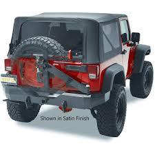 matte green jeep amazon com bestop 44934 01 highrock 4x4 matte black rear bumper