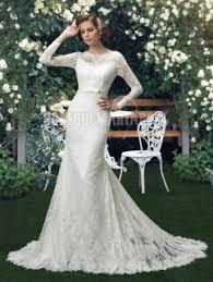robe de mariã e manche longue dentelle dentelle robe de mariée manches longues pas cher robe de mariée