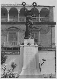 cap di lavello monumento ai caduti della prima guerra mondiale centenario prima