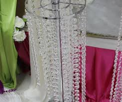 wedding decorations wholesale wholesale acrylic gems bead strands wedding centerpieces