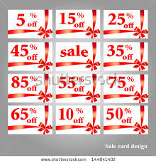 sale icons stock vector 217817614