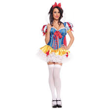 snow white costume deluxe trashy design halloween fancy