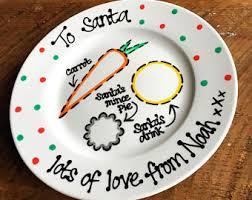 christmas plate christmas santa plate sion corn plate sion corn