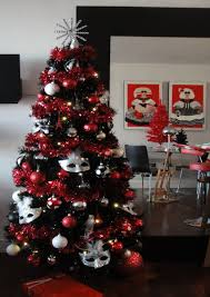 christmas tree decorating ideas black best images collections hd