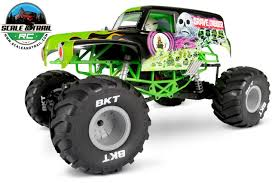 bigfoot electric monster truck press release axial unveils the smt10 grave digger monster truck