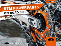 ktm usa powerparts offroad catalog my 2014 by ktm sportmotorcycle