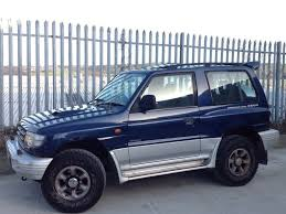 mitsubishi suv blue mitsubishi shogun swb 2 8 gls diesel 3 doors manual 4x4 blue in