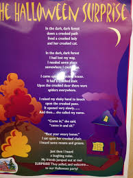the halloween surprise poem the kindergarten all stars