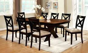 dining room sets for 8 dining table solid oak dining table and 8 leather chairs