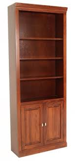 bookcase with bottom doors high versailles cherry bookcase with twin door storage on the bottom