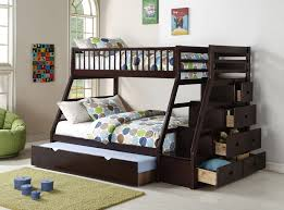 Bunk Bed With Trundle Hh3000 Staircase Bunk Bed With Trundle Amazing