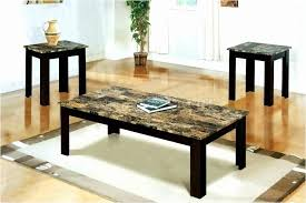 brown coffee table set brown coffee table set lovely faux marble coffee table set download