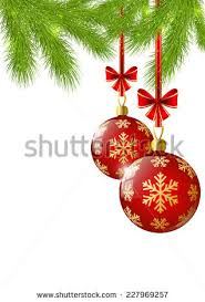 balls on tree stock vector 155295095