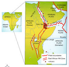 africa map great rift valley how can rift valleys be formed through the collision of plates