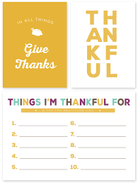 giving thanks journaling and filler cards for thanksgiving