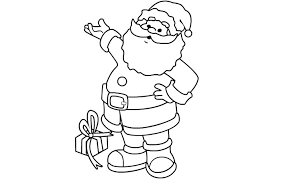 letter to santa template printable black and white santa claus cut out template daway dabrowa co