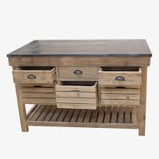 meuble de cuisine bois massif meuble cuisine bois brut inspirational ilot central bois massif