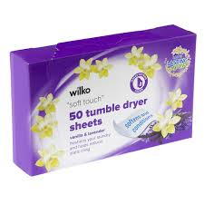 Jml Clothes Dryer Wilko Tumble Dryer Sheets Vanilla And Lavender 50pk At Wilko Com